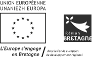 Logo Union Europeenne / Bretagne